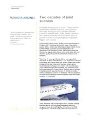 Two decades of joint success - Lufthansa Systems