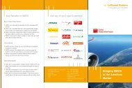 Bringing AMOS to the American Market - Lufthansa Systems