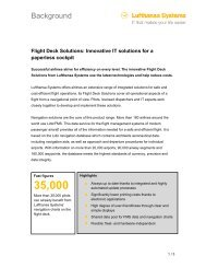 Background - Lufthansa Systems