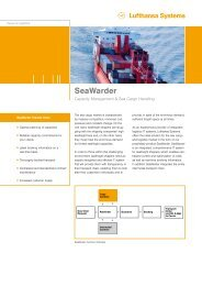 SeaWarder - Lufthansa Systems