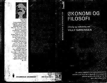 1962 Økonomi og filosofi, udvalgte ungdomsskrifter ... - Gaderummet