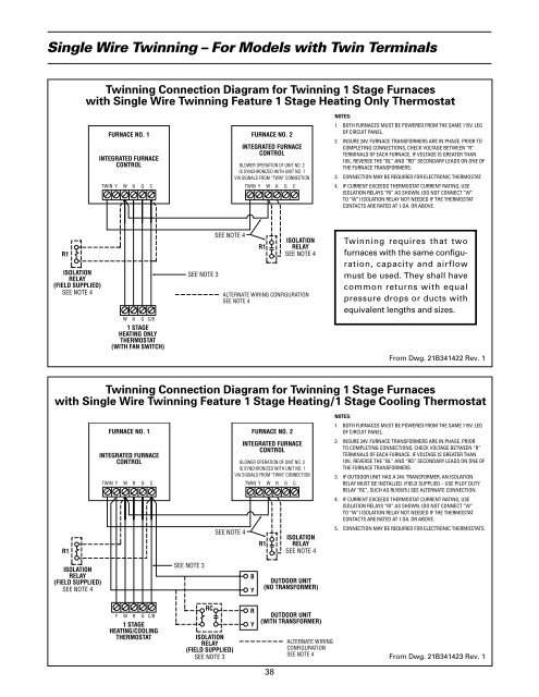 Field Wiring Diagram for on