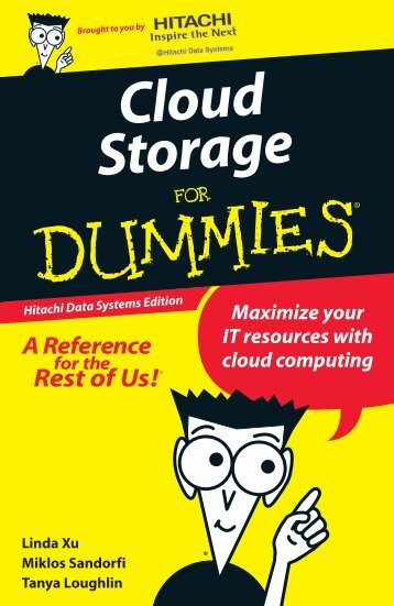 Cloud Storage For Dummies Hitachi Data Systems Edition
