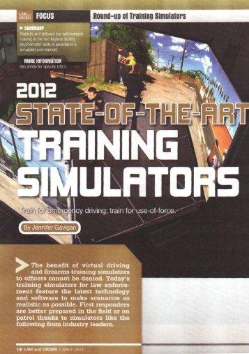Round-UD of Training Simulators - Meggitt Training Systems