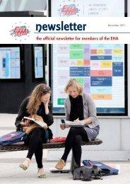 Newsletter November 2011 - European Hematology Association