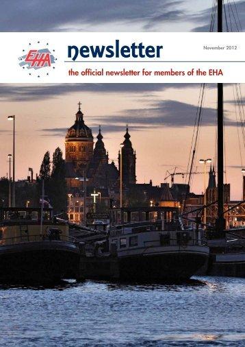 Newsletter May 2012 - European Hematology Association