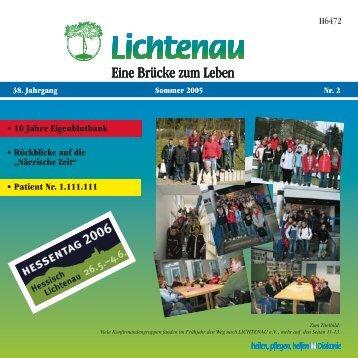 Sommer 2005 - Lichtenau e.V.