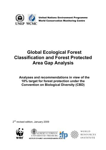 Global Ecological Forest Classification and Forest Protected Area ...