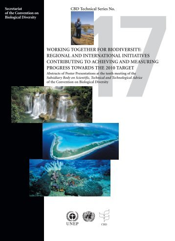 Regional and international initiatives - Tropical Forests