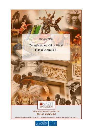 Zenetörténet VIII. - Bécsi klasszicizmus II.