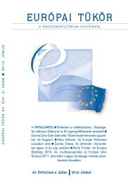Európai Tükör 2010/06. szám
