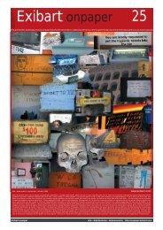 Exibart.onpaper 25 - Eventi artistici in Italia