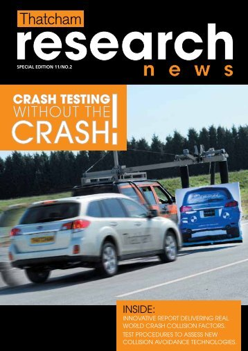2011 Issue 2 - Thatcham Motor Insurance Repair Research Centre