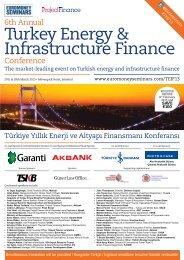 Turkey Energy & Infrastructure Finance