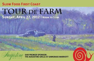 Tour de Farm Booklet! - Slow Food First Coast
