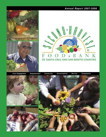 Annual Report 2007-2008 - Second Harvest Food Bank