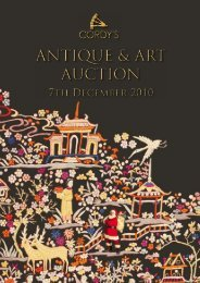 ANTIQUE & ART AUCTION - Cordys