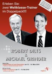 robert dilts michael grinder - Österreichischer Dachverband für NLP