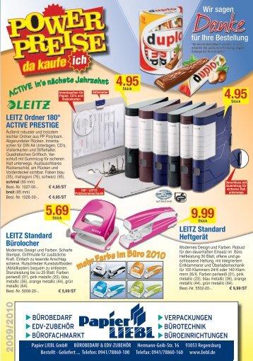 InkJet-Drucker - Papier LIEBL