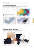 Wellpapp-Polster Perforierte Polsterstränge/Platten Multiform Einsätze - Page 5