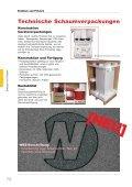 Wellpapp-Polster Perforierte Polsterstränge/Platten Multiform Einsätze - Page 6