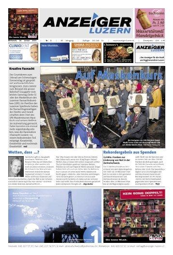 Anzeiger Luzern, Ausgabe 02, 16. Januar 2013