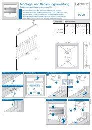 Montage- und Bedienungsanleitung - Liedeco