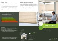 Saving energy with - Liedeco
