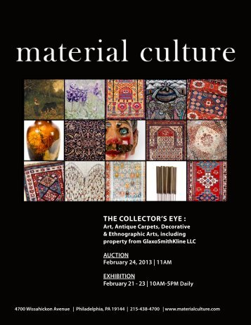download the catalog (pdf) - Material Culture