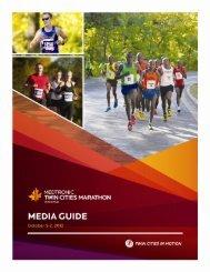 2012 Medtronic Twin Cities Marathon Weekend Media