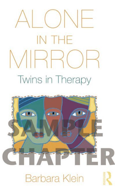 Alone in the Mirror: Twins in Therapy - Routledge
