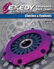 EXEDY Racing Clutch Catalog 2013-14