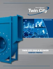 Download Company Profile - Twin City Fan & Blower
