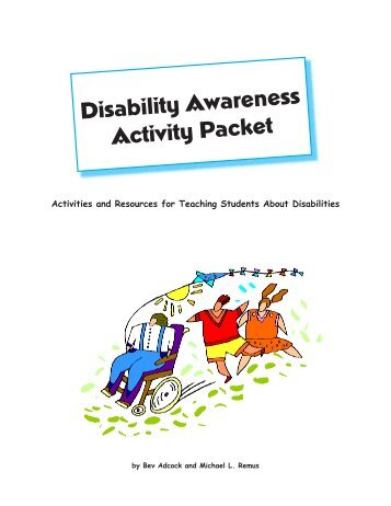 Disability Awareness Activity Packet