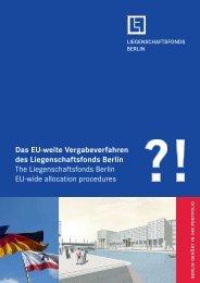 Vergabeverfahren FAQs - Liegenschaftsfonds Berlin