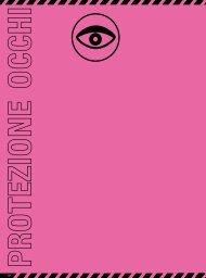 Occhiali di protezione - Agenzia D'Andrea