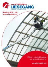 Katalog 2012 - Liftverleih Liesegang