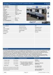 Volkswagen Passat Variant 2.0 TDI DPF ... - Autohaus Jarski
