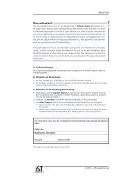Beispiel Einsendearbeit - IST-Studieninstitut