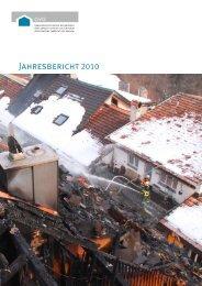 Jahresbericht 2010 - Gebäudeversicherung Graubünden - Kanton ...