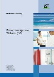 Ressortmanagement Wellness (IST) - IST-Studieninstitut