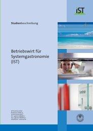 Betriebswirt für Systemgastronomie (IST) - IST-Studieninstitut