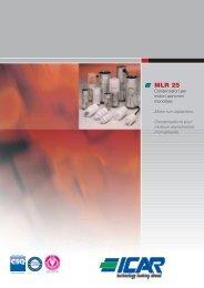 Catalogo MLR25 - ICAR SpA
