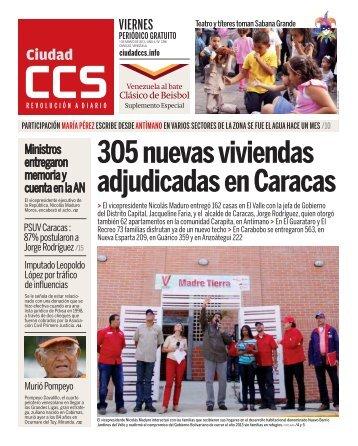 305 nuevas viviendas adjudicadas en Caracas