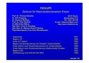 novum `04 - Zentrum für Reproduktionsmedizin