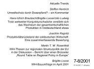 Aktuelle Trends Steffen Hentrich Umweltschutz durch Dosenpfand ...