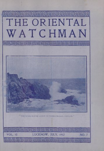 WATCHMAN - Adventistarchives.org