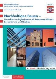Nachhaltiges Bauen - Hessen-Umwelttech