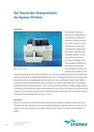 Evaluation of two Sysmex XE-2100 analyzers in an HST-302