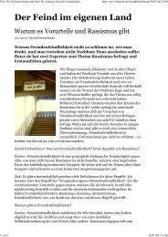 Der Feind im eigenen Land - Universität Bielefeld
